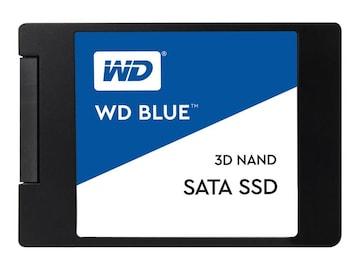 WD 500GB WD Blue SATA 6Gb s 3D NAND 2.5 7mm Internal Solid State Drive, WDS500G2B0A, 34525227, Solid State Drives - Internal