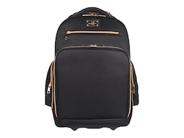 Sandy Lisa Malibu Rolling Backpack for Laptops up to 17+Tablet, SLMBU-RBBK-17, 36395649, Carrying Cases - Other