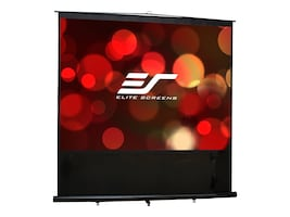 Elite 110 Reflexion Floor Pull-up Mobile Projection Screen, 16:9, FM110H, 15003087, Projector Screens