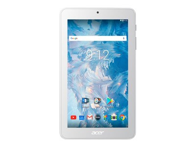 Acer Iconia B1-7A0-K92M MT8167B 1.3GHz 1GB 16GB bgn BT 2xWC 7 WSVGA MT Android 7.0 White, NT.LEKAA.002, 34796166, Tablets