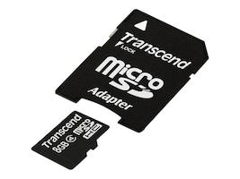 Transcend 8GB Micro SDHC Card, TS8GUSDHC4, 13471611, Memory - Flash