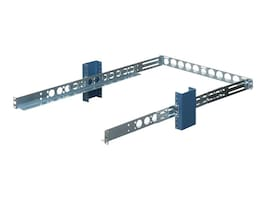 Innovation First Rack Mount Rails, 1U, Generic, Non-sliding, for 19 2-post Racks, 1UKIT-009, 5182026, Rack Mount Accessories