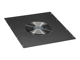 Black Box Single 10 Fan Top Panel for Elite Cabinets, 550cfm, 220VAC, ECTOPF10220, 12500598, Rack Cooling Systems