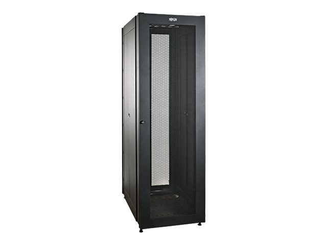 Tripp Lite 42U SmartRack Value Series Std-Depth Rack Enclosure, 2000lb Cap w  Doors, SR2000, 19418765, Racks & Cabinets