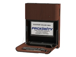 Proximity Classic Self- Disinfecting Wall-Mounted Computer Workstation with Monitor Arm, Custom Color, CXT-6002-9999SD, 34016828, Wall Stations