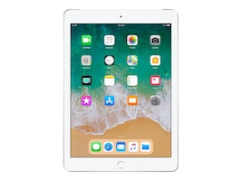 Apple iPad 9.7 32GB, Wi-Fi + Cellular, Silver, MR702LL/A, 35365481, Tablets - iPad