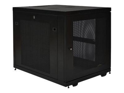 Tripp Lite SmartRack 12U Mid-Depth Rack Enclosure Cabinet, SR12UB, 12016034, Racks & Cabinets