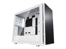 Fractal Design Chassis, Define S2 Tempered glass, White, FD-CA-DEF-S2-WT-TGC, 36225367, Cases - Systems/Servers