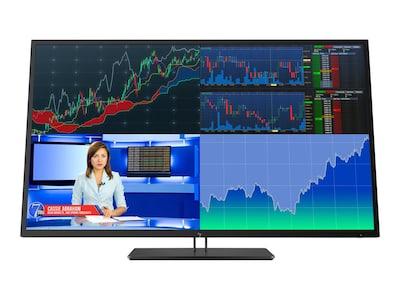 HP 42.5 Z43 4K Ultra HD LED-LCD Display, Black, 1AA85A8#ABA, 35132652, Monitors