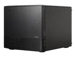 Fractal Design Chassis, Node 804 Micro-ATX Mini-ITX 8x3.5 Bays 5xSlots No PSU, FD-CA-NODE-804-BL, 17320043, Cases - Systems/Servers