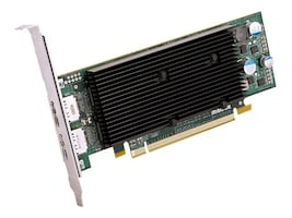 Matrox M9128 Low-Profile PCIe x16 Dual-Head Graphics Card, 1GB, M9128-E1024LAF, 10798141, Graphics/Video Accelerators