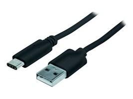 Manhattan Hi-Speed USB Type C (USB-C) to Type A M M Cable, Black, 1m, 353298, 27270561, Cables