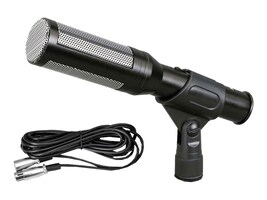 Pyle Electret Condenser Shotgun Mic w  16ft XLR to 1 4 Cable, PDMIC35, 33248740, Microphones & Accessories
