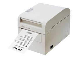 Fujitsu FP-360 Dual Interface Serial & USB Single Station Thermal Printer - White w  AC Adapter, KA02054-D717, 12402701, Printers - POS Receipt