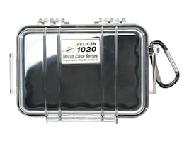 Pelican 1020 Micro Case, Black w Black Lid, 1020-025-110, 17259852, Carrying Cases - Other