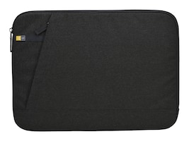 Case Logic Huxton 15.6 Laptop Sleeve, Black, 3203137, 30640017, Carrying Cases - Notebook