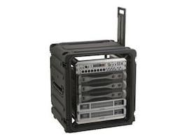Stephen Gould 12U Shock Rack with Wheels Mobile Equipment, Black (20-pack), 3SKB-R12U20W, 10184421, Rack Mount Accessories