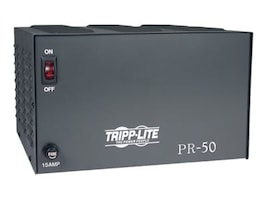 Tripp Lite 50-Amp DC Power Supply 120VAC Input to 13.8VDC Output, PR50, 434706, Power Supply Units (internal)