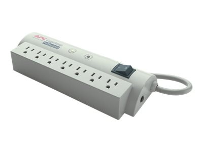 APC Professional SurgeArrest (7) Outlets, 1680 Joules, Phone Line Protection, PRO7T, 9684, Surge Suppressors