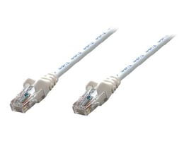 Intellinet Cat5e 350MHz Patch Cable, White, 14ft, 320702, 15176914, Cables