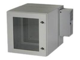 Black Box ClimateCab NEMA 12 Wallmount Cabinet w  800-BTU Air-Conditioner, Beige, Double-Hinged, RMW5110AC-R2, 32887451, Racks & Cabinets