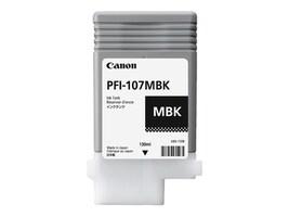 Canon Matte Black PFI-107MBK 130ml Ink Tank, 6704B001AA, 31485039, Ink Cartridges & Ink Refill Kits - OEM