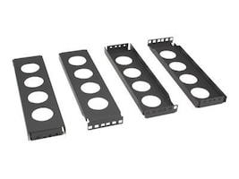 Black Box Center-Mount Conversion Brackets 2U, CB2-2U, 32991216, Rack Mount Accessories