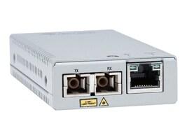 Allied Telesis 10 100TX TO 100FX SC Mini Media Converter Universal PSU, AT-MMC200/SC-60, 27562142, Network Transceivers