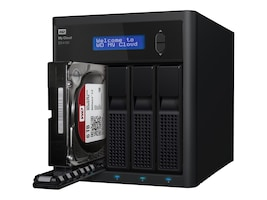 WD 32TB My Cloud EX4100 Network Attached Storage, WDBWZE0320KBK-NESN, 32134978, Network Attached Storage