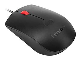 Lenovo Fingerprint USB Optical Mouse, 4Y50Q64661, 35261403, Mice & Cursor Control Devices