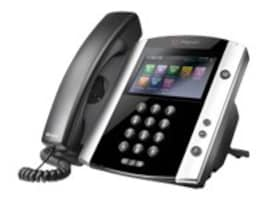 Polycom VVX 600 16 Line Phone with Bluetooth, HD Voice & Power Supply, 2200-44600-001, 18621729, VoIP Phones