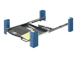 Innovation First Rack Mount Keyboard Tray 1U - PS 2, 1UKYB-126-PS2, 5910978, Ergonomic Products