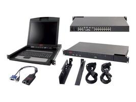 APC IP KVM with 17 Rack LCD and USB VM Server Module Bundle, KVM-BN001, 13362991, KVM Displays & Accessories