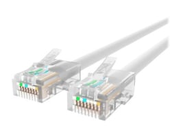 Belkin Cat6 Non-Booted UTP Patch Cable, White, 5ft, A3L980-05-WHT, 10166282, Cables
