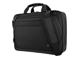 V7 15.6 Topload Case 2 Comp Carrying Case Trolley, Black, CTPD1-1N, 33602260, Carrying Cases - Other