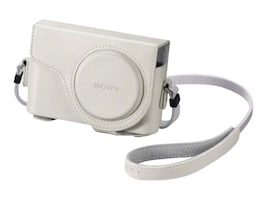 Sony Semi-Hard Carrying Case for Cyber-shot HX300 Digital Camera, White, LCJWD/W, 15486470, Carrying Cases - Camera/Camcorder