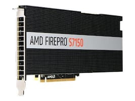 AMD Firepro S7150 PCIe 3.0 x16 Graphics Card, 8GB GDDR5, 100-505929, 32066143, Graphics/Video Accelerators