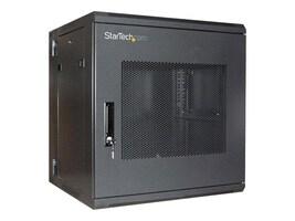 StarTech.com 19 Hinged Wall Mount Server Rack Cabinet, 12U, Steel Mesh Door, RK1219WALHM, 10545004, Racks & Cabinets