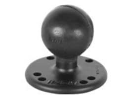Ram Mounts 2.5 Round Base with the AMPs Hole Pattern & 1.5 Ball, RAM-202U, 17105360, Mounting Hardware - Miscellaneous