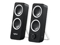 Logitech Z200 Multimedia 2.0 Speakers, Midnight Black, 980-000800, 16333213, Speakers - PC