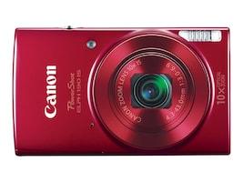 Canon PowerShot ELPH 190 IS Digital Camera, Red, 1087C001, 33589384, Cameras - Digital