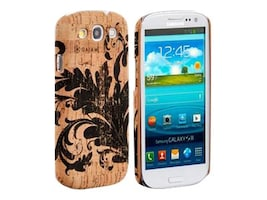 Allsop Natural Cork Case for Samsung Galaxy S3, Filigree, 30838, 18895607, Carrying Cases - Phones/PDAs