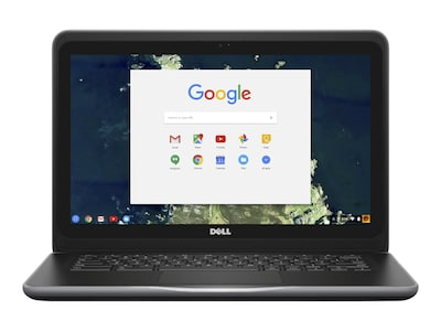 Dell Chromebook 3380 Celeron C3855 1.6GHz 4GB 16GB SSD ac BT 4C 13.3 HD Chrome OS, 6TXJ4, 33770255, Notebooks