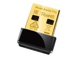 TP-LINK AC450 Wireless Nano USB 2.0 Adapter, ARCHER T1U, 30826567, Wireless Adapters & NICs