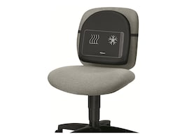 Fellowes Heat-N-Sooth Back Support, 9190001, 11982425, Ergonomic Products