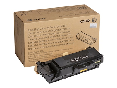 Xerox Black Extra High Capacity Toner Cartridge for WorkCentre 3300 & Phaser 3330 Series, 106R03624, 32670631, Toner and Imaging Components