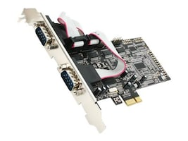 Rosewill 4-Port PCIe Serial Card, RC-305E, 17975963, Controller Cards & I/O Boards