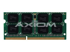 Axiom 4GB PC3-10600 DDR3 SDRAM SODIMM for Select iMac, MacBook Pro Models, MB1333/4G-AX, 12703264, Memory