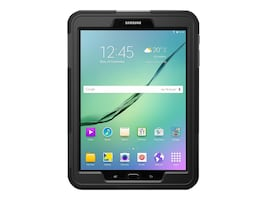 Griffin Survivor Slim for Galaxy Tab S2 9.7, Black, GB42006, 30720682, Carrying Cases - Tablets & eReaders