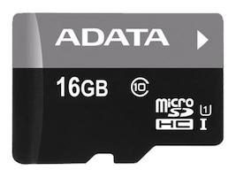 A-Data 16GB MicroSDHC UHS-I Flash Memory Card, Class 10, AUSDH16GUICL10-R, 15573362, Memory - Flash